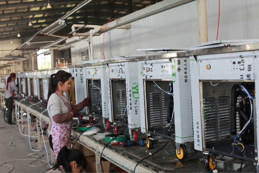 Congratulations on the completion of our production line,main products of ARTEX group---(1) refrigeration equipment