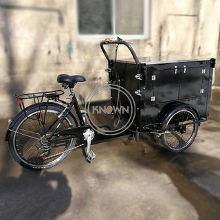 Small Street Mobile Food Bike Hot Dog Selling Cart Fast Foods Snack Fruits Bicycle Ice Cream Vending Trucks