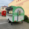 2.8M Catering Trailer Food Truck Mobile Kitchen Street Food Cart for Sale
