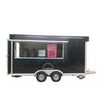 Factory Direct Sale Mobile Fast Food Carts / Electric Coffee Used Food Truck Cart for Europe