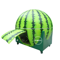 Orange Watermelon Lemon Shapes Optional Street Food Fruit Mobile Cart Kiosk