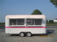 KN-500R Modern Outdoor Mobile Catering Food Trailer Food Truck Business
