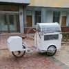 Front Load Ice Cream Cargo Bike Fashion Electric Adult Tricycle With High Quality Freezer for Sale Wholesale Price