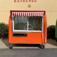 220E Mobile Food Cart Ice Cream Truck for Snack Food Carts Customized for Sale