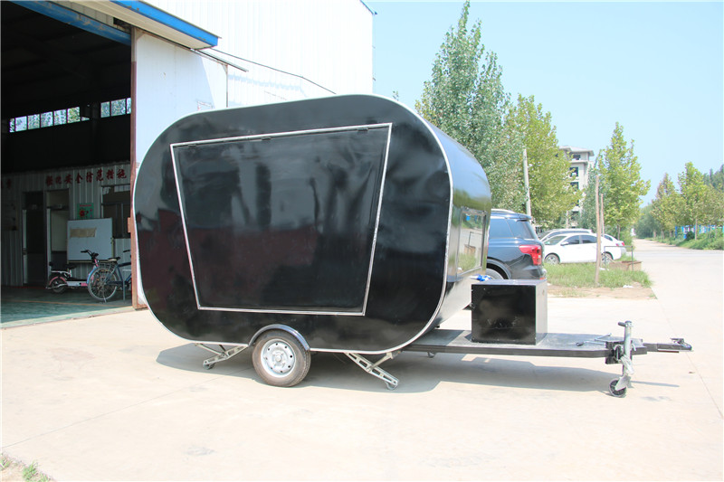 Mobile Snack Food Processing Machinery Food Cart Food Trailer Supplier with Lower Price And Cooking Equipment