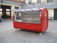 KN-300D 3M Coffee Vending Panini Chinese Food Van Vintage Mobile Concessions Trailers
