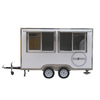 KN-300 Food Trailer Multifunctional Fast Snaks Vending Carts