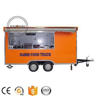 Hot Sale Mobile Food Cart Fast Snack Trailer