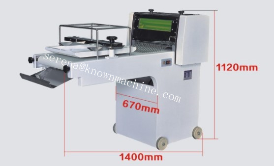 High quality french bread moulder machine