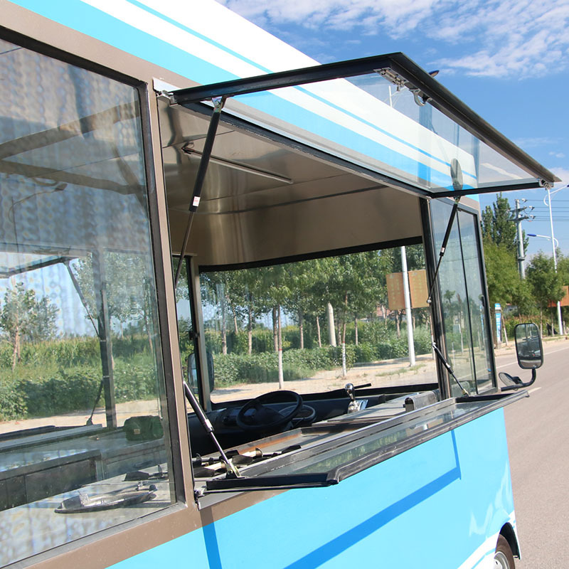 New type of electric food truck CE approved mobile cart for fast food