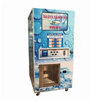 450kg/day ice cube vending machine ice maker vending machine 24 hour service for sale